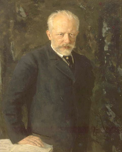Nikolai Kuznetsov's portrait of the composer, 1893